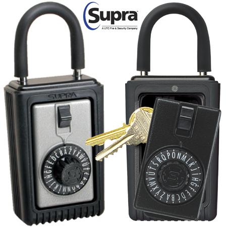 Combination lock style lock box