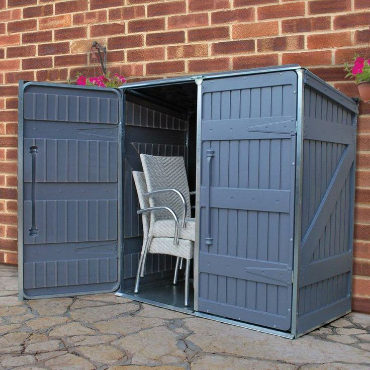patio furniture storage