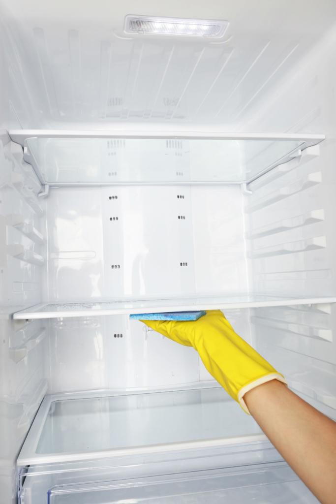 interior fridge cleaning