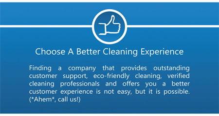 Better Cleaning Experience