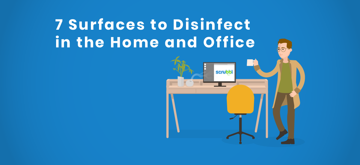Disinfect your workspace