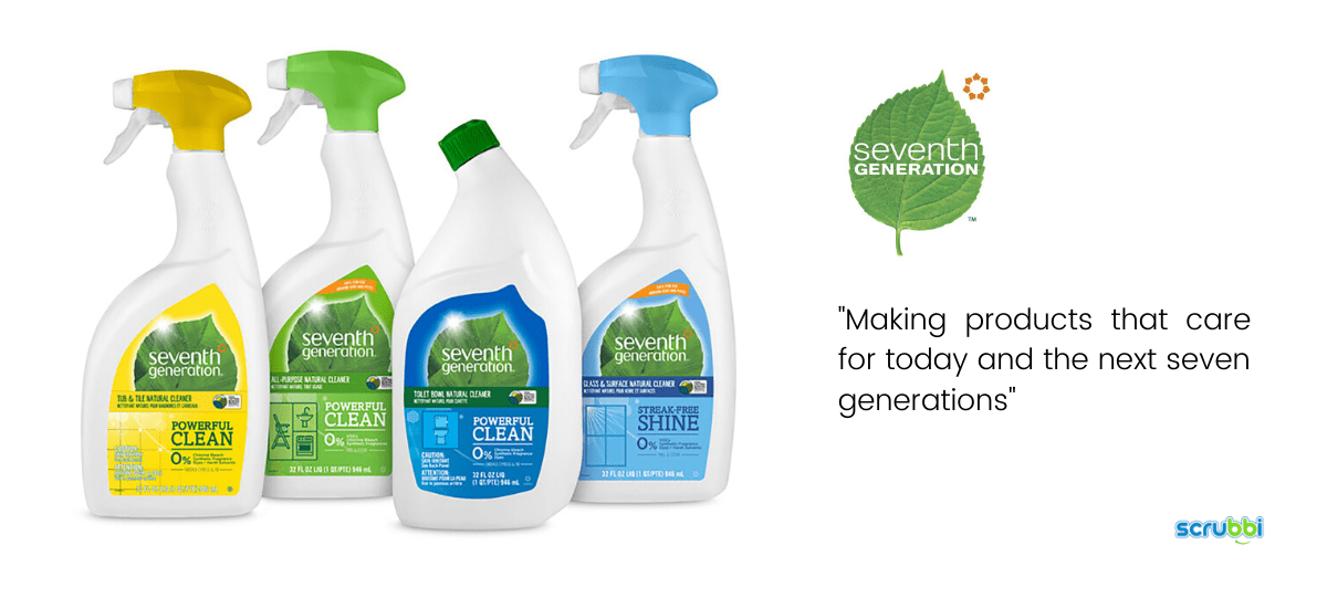 seventh generation cleaning products