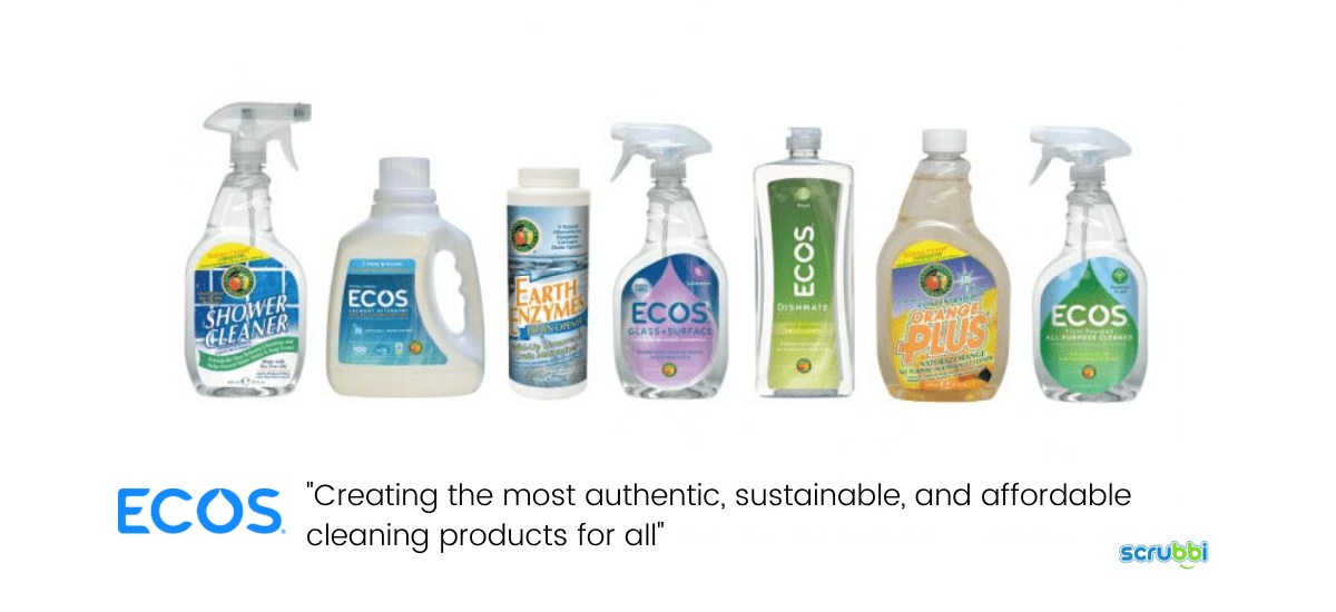 ecos cleaning products