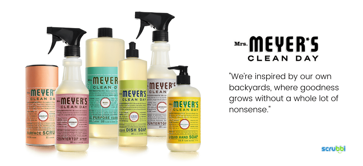 mrs meyerscleaning products